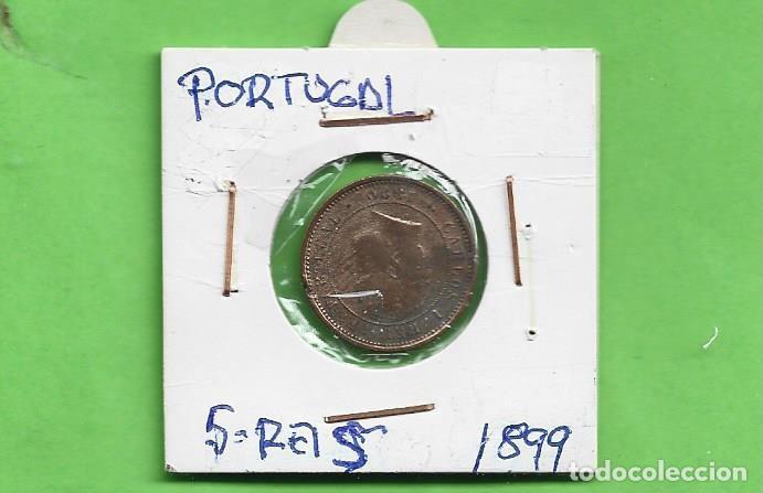 PORTUGAL. 5 REIS 1899. BRONCE. KM#530 (Numismática - Extranjeras - Asia)