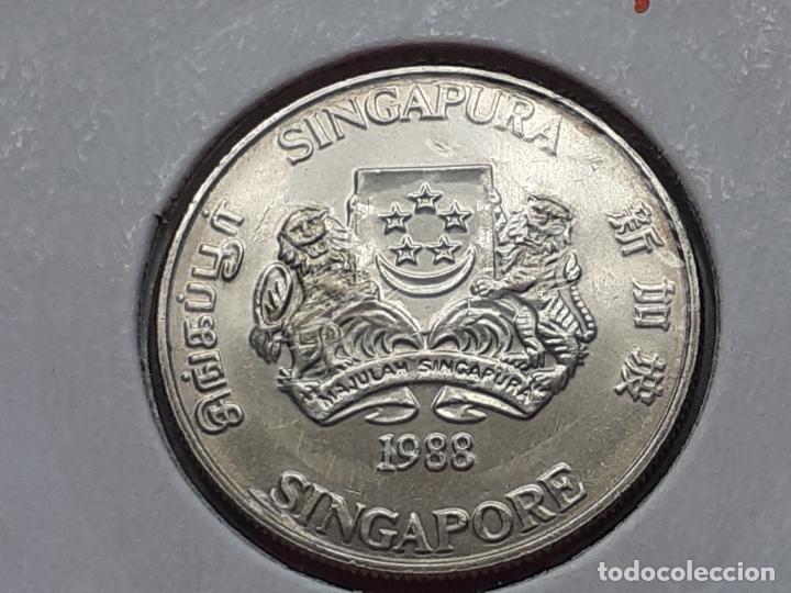 Monedas antiguas de Asia: SINGAPUR MONEDAS VARIAS - Foto 7 - 266560713