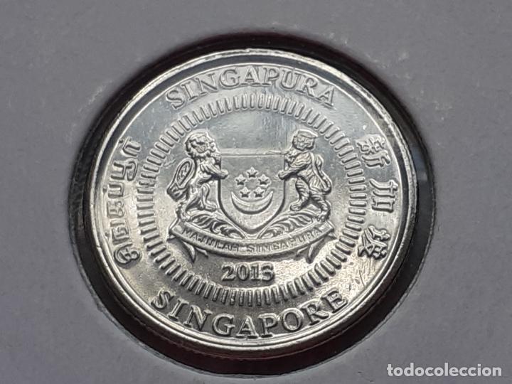 Monedas antiguas de Asia: SINGAPUR MONEDAS VARIAS - Foto 9 - 266560713