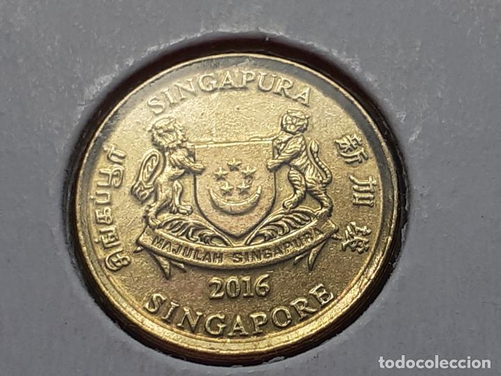 Monedas antiguas de Asia: SINGAPUR MONEDAS VARIAS - Foto 14 - 266560713