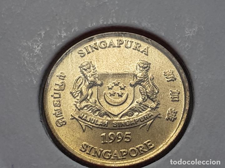 Monedas antiguas de Asia: SINGAPUR MONEDAS VARIAS - Foto 18 - 266560713