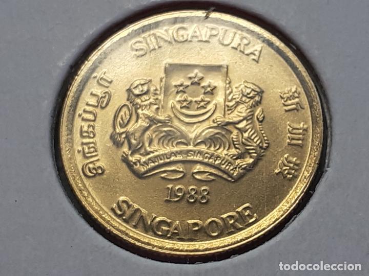 Monedas antiguas de Asia: SINGAPUR MONEDAS VARIAS - Foto 20 - 266560713