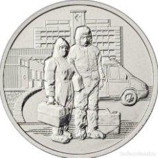 Monedas antiguas de Asia: RUSIA 25 RUBLOS, 2020 - COVID TRABAJADORES SANITARIOS PANDEMIA. Lote 266962039