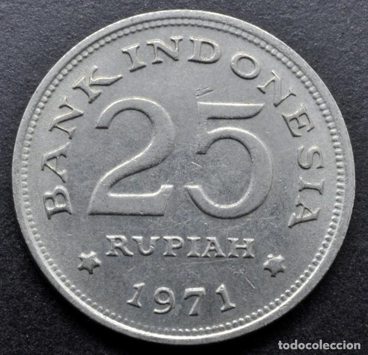 Monedas antiguas de Asia: Indonesia, 25 rupias 1971 - Foto 2 - 268479174