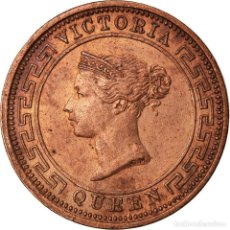 Monedas antiguas de Asia: [#871058] MONEDA, CEILÁN, VICTORIA, 1/2 CENT, 1898, MBC+, COBRE, KM:91. Lote 269047133