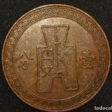 Monedas antiguas de Asia: 1 FEN 1937 REPÚBLICA DE CHINA (A4). Lote 269063713