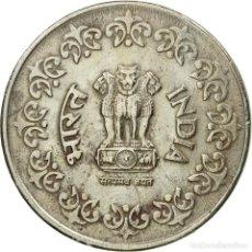 Monedas antiguas de Asia: [#548315] MONEDA, INDIA-REPÚBLICA, 50 PAISE, 1984, BC+, COBRE - NÍQUEL, KM:65. Lote 269069963