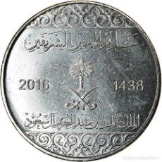 Monedas antiguas de Asia: [#786427] MONEDA, ARABIA SAUDÍ, 10 HALALAS, 2016/AH1438, SC, NÍQUEL CHAPADO EN ACERO. Lote 269134398