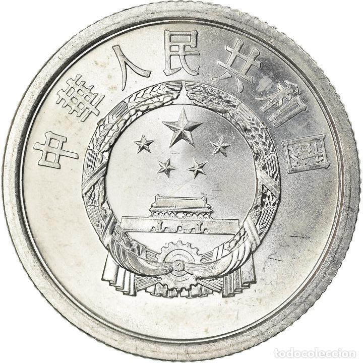 [#761562] MONEDA, CHINA, REPÚBLICA POPULAR, 2 FEN, 1964, EBC, ALUMINIO, KM:2 (Numismática - Extranjeras - Asia)