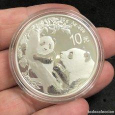 Monedas antiguas de Asia: ONZA ( 30 GR)MONEDA LINGOTE DE PLATA PURA-PANDA-CHINA- 2021. Lote 269149803