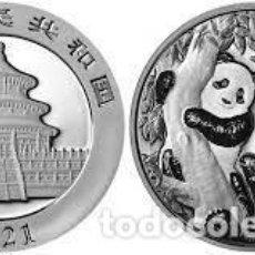 Monedas antiguas de Asia: CHINA 10 YUAN PLATA 2021 PANDA. Lote 269153903