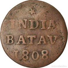 Monedas antiguas de Asia: [#852430] MONEDA, INDIAS ORIENTALES HOLANDESAS, DUIT, 1808, DORDRECHT, BC+, COBRE, KM:76. Lote 269157188