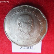 Monedas antiguas de Asia: INDIA 2 RUPIAS 1998 SARDAR VALLABHBHAI PATEL, CALCUTA. Lote 269168728
