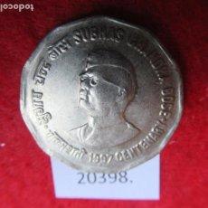 Monedas antiguas de Asia: INDIA 2 RUPIAS 1997 SUBHAS CHANDRA BOSE, NOIDA. Lote 269168833