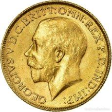 Monedas antiguas de Asia: [#499683] MONEDA, INDIA BRITÁNICA, GEORGE V, SOVEREIGN, 1918, BOMBAY, MBC+, ORO, KM:525A. Lote 269179733