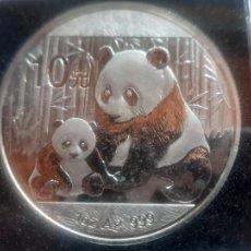 Monete antiche di Asia: CHINA. ONZA PLATA PURA 999, PANDA 2012 CALIDAD PROOF, 10 YUAN EN CÁPSULA ANTI-HUMEDAD. Lote 269298153