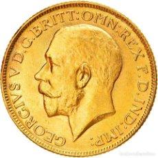 Monedas antiguas de Asia: [#886558] MONEDA, INDIA BRITÁNICA, GEORGE V, SOVEREIGN, 1918, BOMBAY, EBC, ORO, KM:525A. Lote 269505463