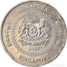 Monedas antiguas de Asia: [#747524] MONEDA, SINGAPUR, 50 CENTS, 2009, SINGAPORE MINT, BC+, COBRE - NÍQUEL, KM:102. Lote 269505588