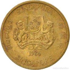 Monedas antiguas de Asia: [#747487] MONEDA, SINGAPUR, 5 CENTS, 1986, BRITISH ROYAL MINT, BC+, ALUMINIO - BRONCE. Lote 269506838