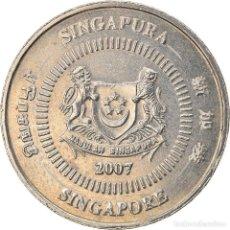 Monedas antiguas de Asia: [#747523] MONEDA, SINGAPUR, 50 CENTS, 2007, SINGAPORE MINT, MBC, COBRE - NÍQUEL, KM:102. Lote 269507603