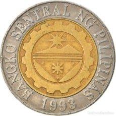 Monedas antiguas de Asia: [#747546] MONEDA, FILIPINAS, 10 PISO, 2003, MANILA, BC+, BIMETÁLICO, KM:278. Lote 269509708