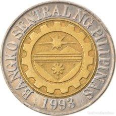 Monedas antiguas de Asia: [#747544] MONEDA, FILIPINAS, 10 PISO, 2005, MANILA, MBC, BIMETÁLICO, KM:278. Lote 269509723