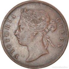 Monedas antiguas de Asia: [#834957] MONEDA, MALASIA, CENT, 1887, BC+, BRONCE, KM:16. Lote 269573773
