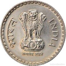 Monedas antiguas de Asia: [#747448] MONEDA, INDIA-REPÚBLICA, 5 RUPEES, 2000, EBC, COBRE - NÍQUEL, KM:154.1. Lote 269573963