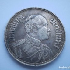 Monedas antiguas de Asia: 51SCD14 TAILANDIA RAMA VI 2459 (1916) 1 BAHT DE PLATA. Lote 269743233