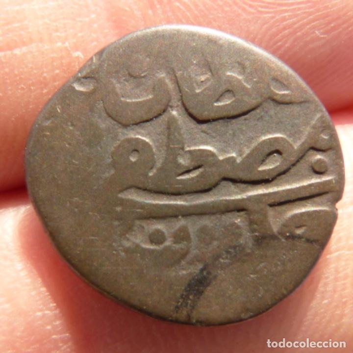 Monedas antiguas de Asia: Antigua moneda de cobre por catalogar , india ? 1,7cm - Foto 3 - 275146863