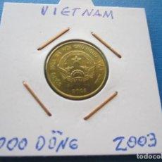 Monedas antiguas de Asia: MONEDA DE VIETNAM DE 1000 DONG DE 2003 SC. Lote 276076048