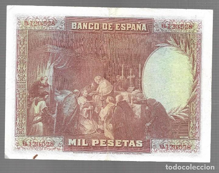 Monedas antiguas de Asia: BILLETE DE ESPAÑA 1000 PESETAS DE ALFONSO XIII 1928 EL QUE VES original - Foto 2 - 277022753