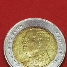 Monedas antiguas de Asia: 10 BATH TAILANDIA 2011. Lote 277264198