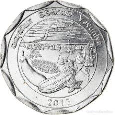 Monedas antiguas de Asia: [#826336] MONEDA, SRI LANKA, VAVUNIYA, 10 RUPEES, 2013, SC, ACERO INOXIDABLE. Lote 277414718