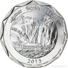 Monedas antiguas de Asia: [#826346] MONEDA, SRI LANKA, BADULLA, 10 RUPEES, 2013, SC, ACERO INOXIDABLE. Lote 277414793