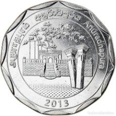 Monedas antiguas de Asia: [#826359] MONEDA, SRI LANKA, ANURADHAPURA, 10 RUPEES, 2013, SC, ACERO INOXIDABLE. Lote 277414823