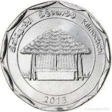 Monedas antiguas de Asia: [#826369] MONEDA, SRI LANKA, KILINOCHCHI, 10 RUPEES, 2013, SC, ACERO INOXIDABLE. Lote 277414853