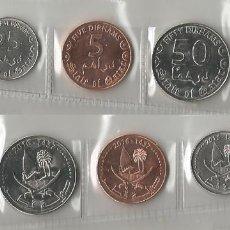 Monedas antiguas de Asia: QATAR - SERIE COMPLETA - 2016 - NO CIRCULADA. Lote 277450378