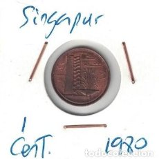 Monedas antiguas de Asia: MONEDAS - SINGAPUR - 1 CENT 1980. Lote 277455528