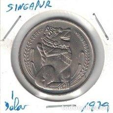 Monedas antiguas de Asia: MONEDAS - SINGAPUR - 1 DOLAR 1979. Lote 277455613