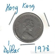 Monedas antiguas de Asia: MONEDAS - HONG KONG - 1 DOLLAR 1978. Lote 277456493