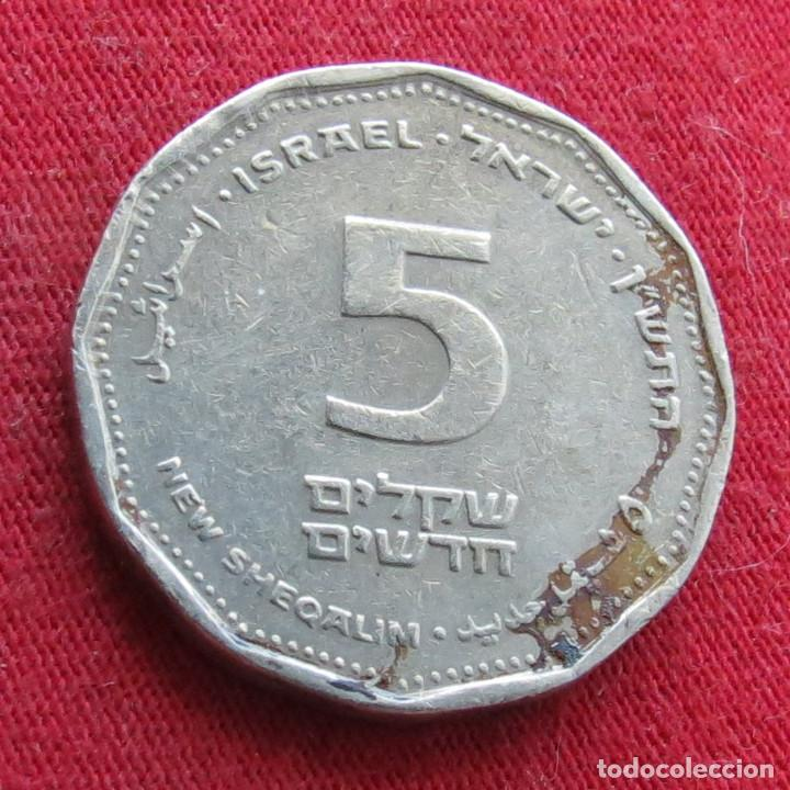 Monedas antiguas de Asia: Israel 5 sheqalim 1990 Levi Eshkol - Foto 2 - 278235138