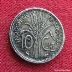 Monedas antiguas de Asia: INDOCHINA FRANCESA 10 CENTS 1939. Lote 278275228