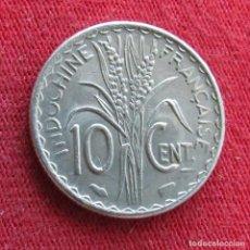 Monedas antiguas de Asia: INDOCHINA FRANCESA 10 CENTS 1940. Lote 278275363