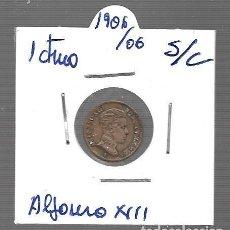 Monedas antiguas de Asia: MONEDA DE ESPAÑA ALFONSO XIII LA QUE VES ORIGINAL. Lote 279586888