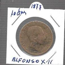 Monedas antiguas de Asia: MONEDA DE ESPAÑA ALFONSO XII LA QUE VES ORIGINAL. Lote 279587363