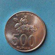 Monedas antiguas de Asia: MONEDA. INDONESIA. 500 RUPIAH. BUNGA MELATI. 2008. BANK INDONESIA. Lote 283826318