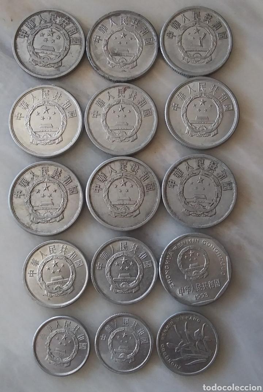 Monedas antiguas de Asia: China Lote de 41 Monedas - Foto 3 - 284417088