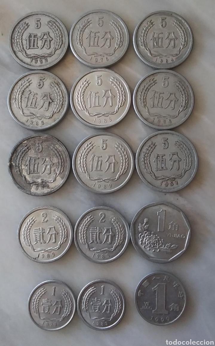 Monedas antiguas de Asia: China Lote de 41 Monedas - Foto 4 - 284417088