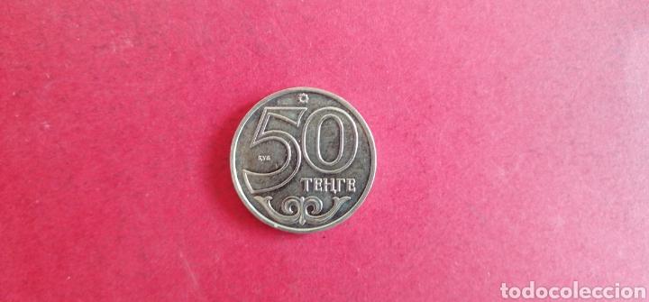 Monedas antiguas de Asia: 50 tenge de Kazajistán 2013. Conmemorativa - Foto 2 - 287677608